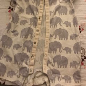 74a4c03f0d GAP One Pieces - A summer onesie with elephants